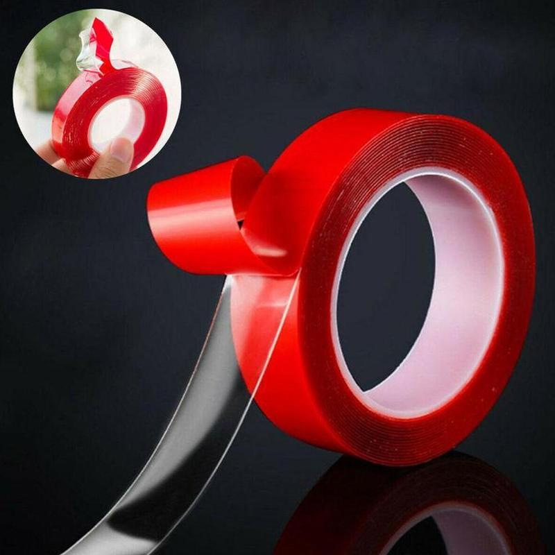 Waterproof Double-sided Clear Transparent Acrylic For Car Adhesive Sticker High Strength Adhesive Tape Electrical 3M 15MM/30MM