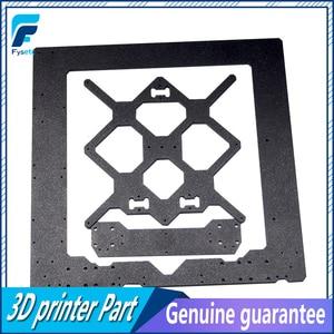 Image 2 - 복제 원래 Prusa i3 MK3S 3D 프린터 부품 알루미늄 합금 프레임 Y 캐리지 전면 후면 플레이트 + 알루미늄 블랙 프로파일 키트