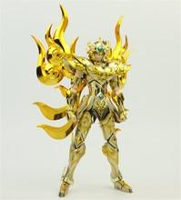 En Stock Metal Club Saint Seiya Myth Cloth Soul of God SOG EX Lion Aiolia chevaliers du zodiaque Metal Club MC Saire Action figurine
