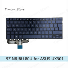 Notebook Laptop Uk-Keyboard ASUS for Ux301/Ux301la/Ux301l/.. Blue