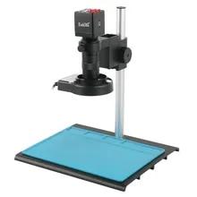 2021 1080P HDMI VGA Industrial Digital Video Microscope Camera + 100X C mount Lens +