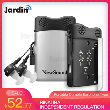Hearing Aid Portable Durable Earphone Type Best Sound Amplifier Adjustable Tone digital Two Channels Hearing Aids Care