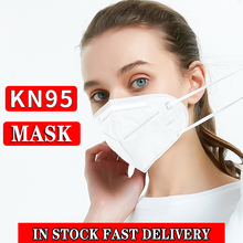 10pcs Disposable Masks Surgical Mask 5-Ply Anti-virus Anti-Dust FFP3 KF94 N95 Nonwoven Elastic Earloop Mouth Face Masks