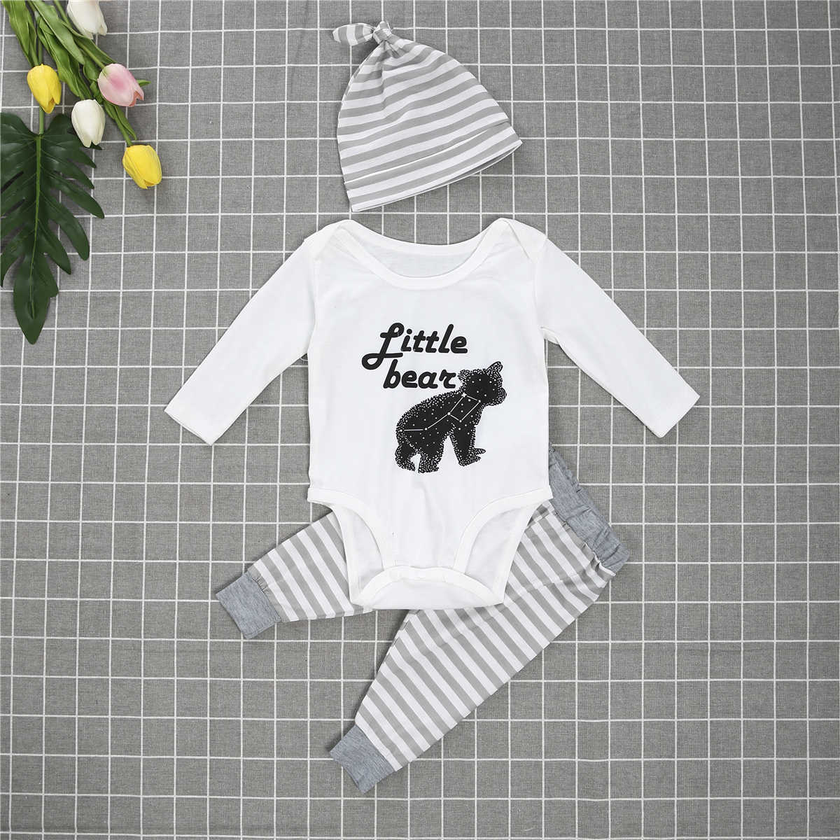 2019  Family Matching Casual Pajama Outfit Parent-Child Cotton Sleepwear