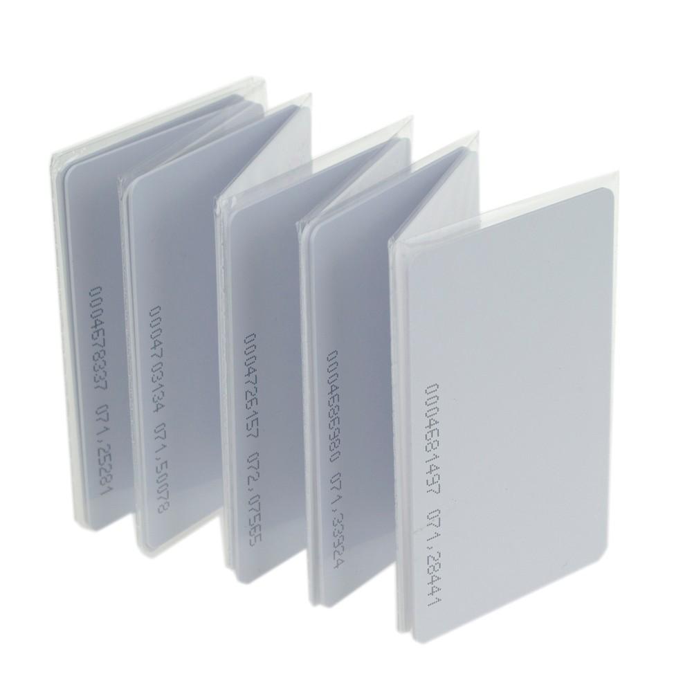 Free-shipping-100pcs-RFID-Smart-Card-Of-ID-Keyfobs-125-KHz-TK4100-ID-Card-Access-Control