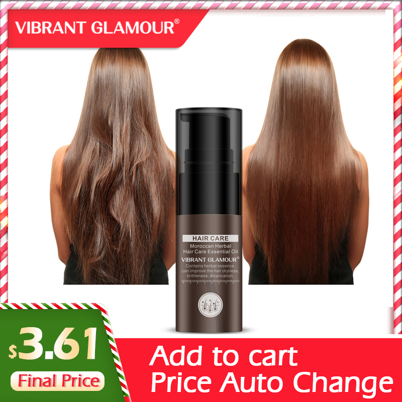 VIBRANT GLAMOUR Hair Growth Essence Hair Loss Products Moroccan Essential Oil Liquid Treatment Preventing Hair Loss Hair Care image