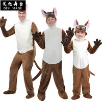 Halloween Animal Series Cat Costume Halloween Performance Costume Adult Child Thai Cat Siamese Cat Costume Playing Outfit