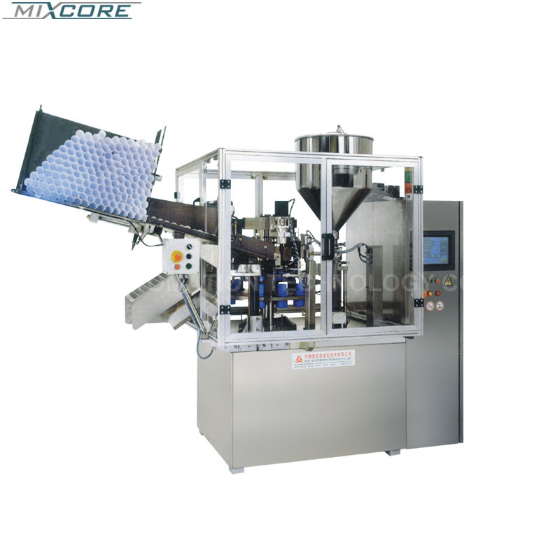 CE Stainless Steel SGF-50 Soft Tube Filling &Sealing Machine
