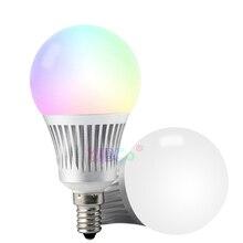 Wholesale Miboxer FUT013 5W E14 RGB+CCT LED Light Blub 2.4G WiFi remote control led lamp AC100~240V