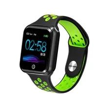 S226 модные часы Smart Watch IP67 Водонепроницаемый Мониторинг частоты сердечных сокращений крови Давление Bluetooth спортивные умные часы Поддержка IOS ...