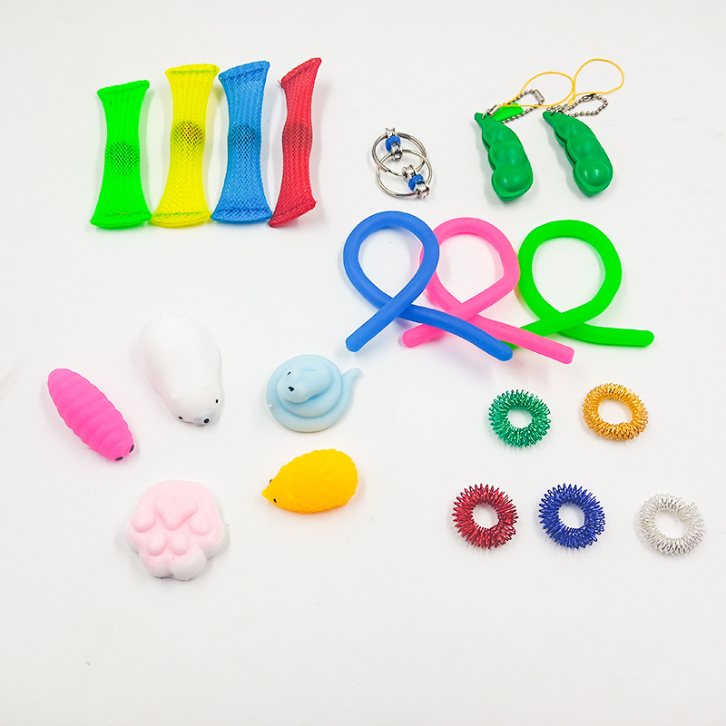 Toy-Set Fidget-Toys Relief-Antistress-Toys Marble Sensory Stress Strings Girl Adults img5