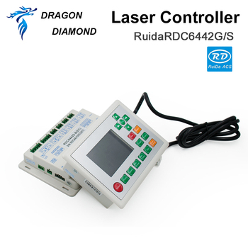 DRAGON DIAMOND Ruida RDC6442G/S CO2 Laser DSP Controller For Laser Engraving and Cutting Machine ruida rd rdlc320 a co2 laser dsp controllerr rd320a co2 laser controller use for laser engraving and cutting machine