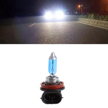 цена на 12V 55W H11 Car Fog Light Bulb Lamp Super White Halogen Auto