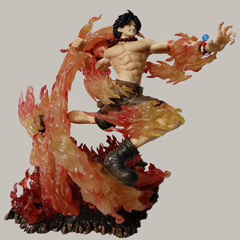 ONE PIECE Old Enemy Whitebeard Pirates Portgas D Ace Edward Newgate Gol D Roger PVC Action Collectible Model Statue Toy G679