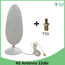 купить 3G 4G LTE Antenna 22dbi SMA male TS9 Connector 2.8M Cable wifi antenna for Huawei 3G 4G LTE Modem Router antena antenne недорого