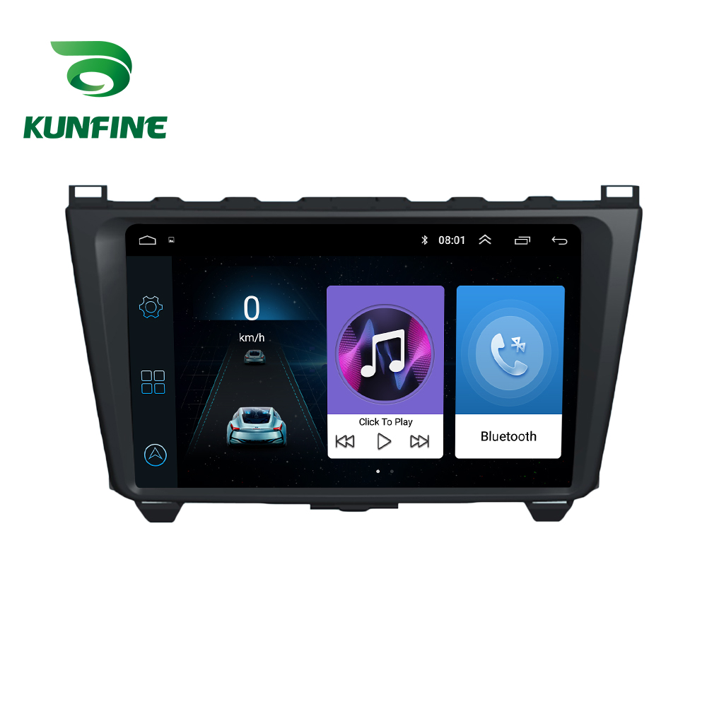 Octa Core 1024*600 Android10.0 Car DVD <font><b>GPS</b></font> Navigation Player Deckless Car Stereo For <font><b>Mazda</b></font> <font><b>6</b></font> Core-wing 2008-2014 Radio Headunit image