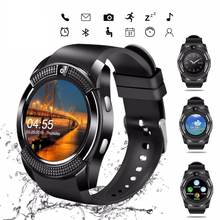 V8 Smartwatch Bluetooth Pedometer SIM TF Card Watch Camera 2G Color Display Wris