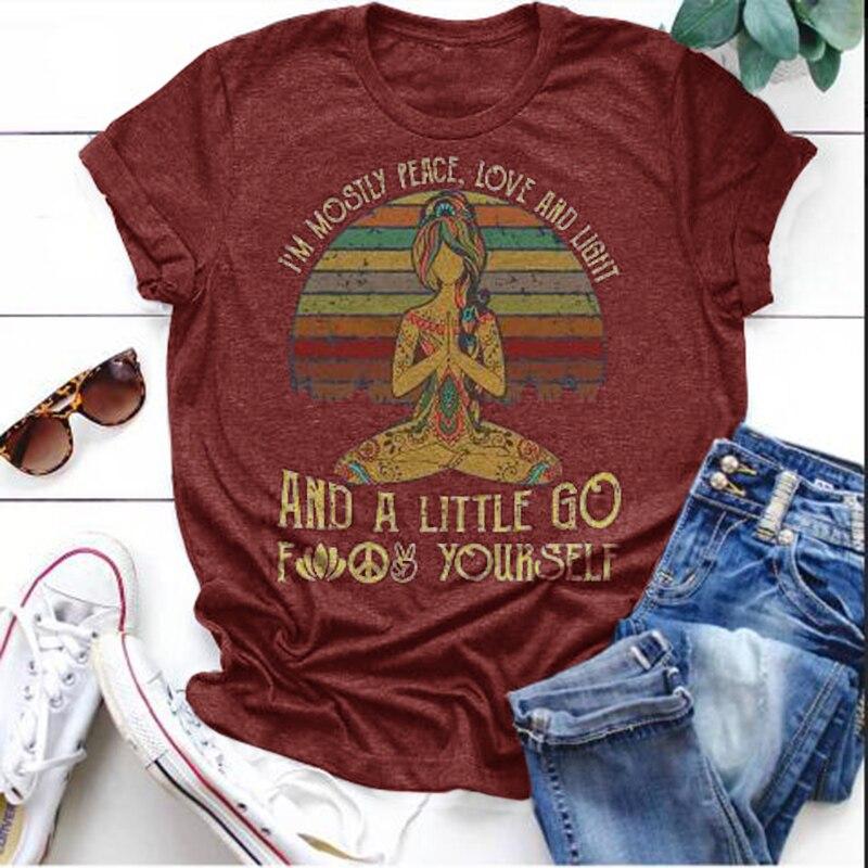Plus Size S-5XL Fashion  Letter Print T Shirt Women Cotton O Neck Short Sleeve Summer T-Shirt Tops Casual TShirt Verano Mujer 2