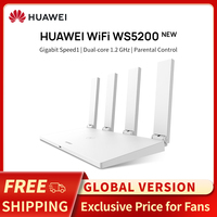 Global Version HUAWEI WS5200 V3 Wireless Wifi Router 1200Mbps Dual Core Dual Band 2.4GHz 5GHz GE Port APP Control Easy Setup