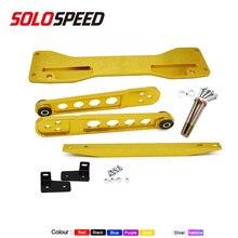 Aluminium Subframe Brace + Tie Bar + Achter Draagarm Fit Voor Honda Civic Si 01 05 es Em EP3 Acura Rsx