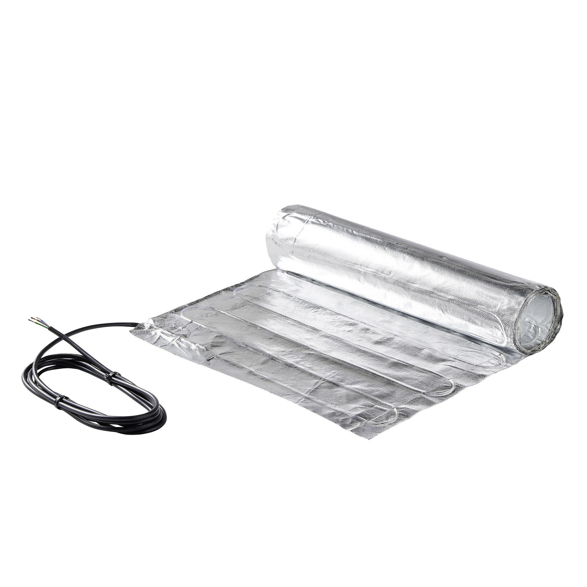 Underfloor Heating Aluminum Foil Mat Kit For Laminate Wood Tile 220V 150W/M2