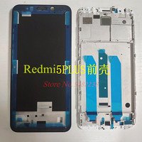Xiaomi Redmi 5 Plus 5 P 중간 프레임 커버 교체 부품 용 기존 LCD 전면 프레임