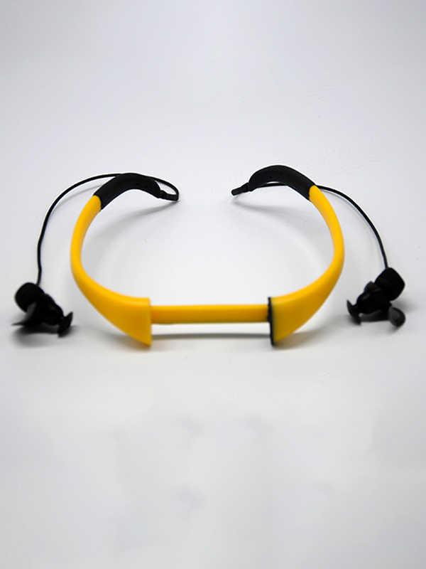 Tayogo 防水ヘッドセット骨交換用マイクなしで P8 防水 MP3 プレーヤースイミング水泳 Mp3