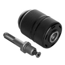 цена на 13MM Professional Keyless Drill Chuck with SDS Plus Adaptor Hardware Tool Part Drill Chuck for Under 700W Drill Bit Drill Hammer