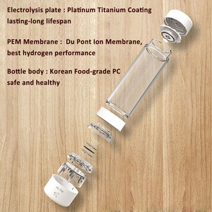 Image 2 - Max H2 3700 ppb SPE technology DuPont ion membrane hydrogen concentration hydrogen water maker and hydrogen water generator