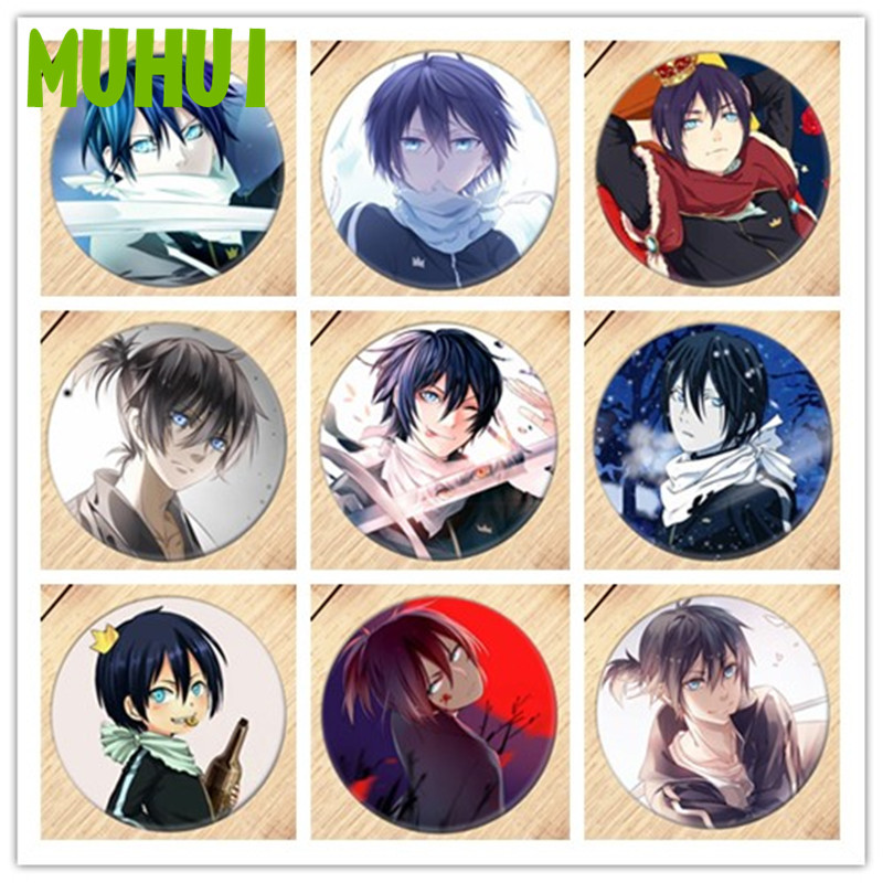 Free Shipping Anime Noragami Brooch Pin Badge Accessories For Clothes Backpack Decoration Children's Gift B013
