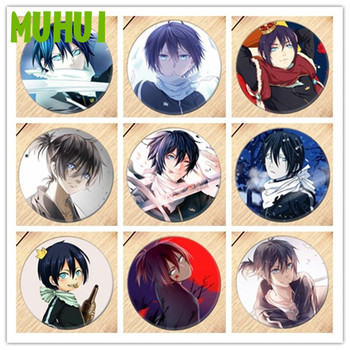 Free Shipping Anime Noragami Brooch Pin Badge Accessories For Clothes Backpack Decoration Children's gift B013 - discount item  29% OFF Costumes & Accessories