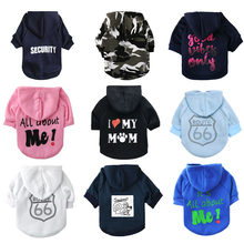 Dog Clothes Winter Soft Pet Hoodie Cotton Puppy Dogs Costume Dogs Coat Jacket Chihuahua Pet Clothes For Small Medium Dogs Pug(China)