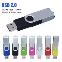 Neueste beliebtesten 2,0 high speed usb flash-stick 32gb pen drive 4 gb 8 gb 16 gb 64 gb 128 gb stick metall flash speicher