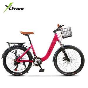 Новый Для женщин велосипедов Алюминий сплав рама 24 дюймов колеса 27 Скорость велосипед детей младшего возраста спортивный свет Вес Bicicleta