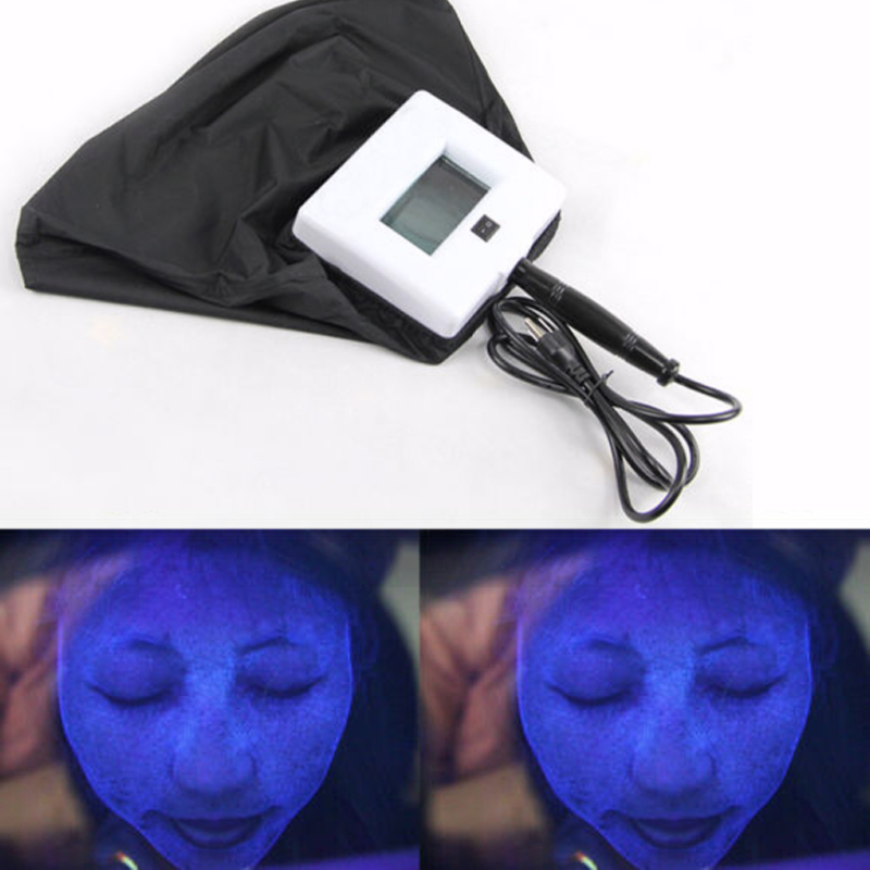 Skin Care UV Magnifying Analyzer Testing Beauty Equipment Facial SPA Salon Wood Lamp Light Facial Analysis Device