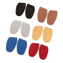 2 шт. DIY палка на подошвах, пятки обуви ремонт антискользящее покрытие в области ладоней-резиновая прокладка