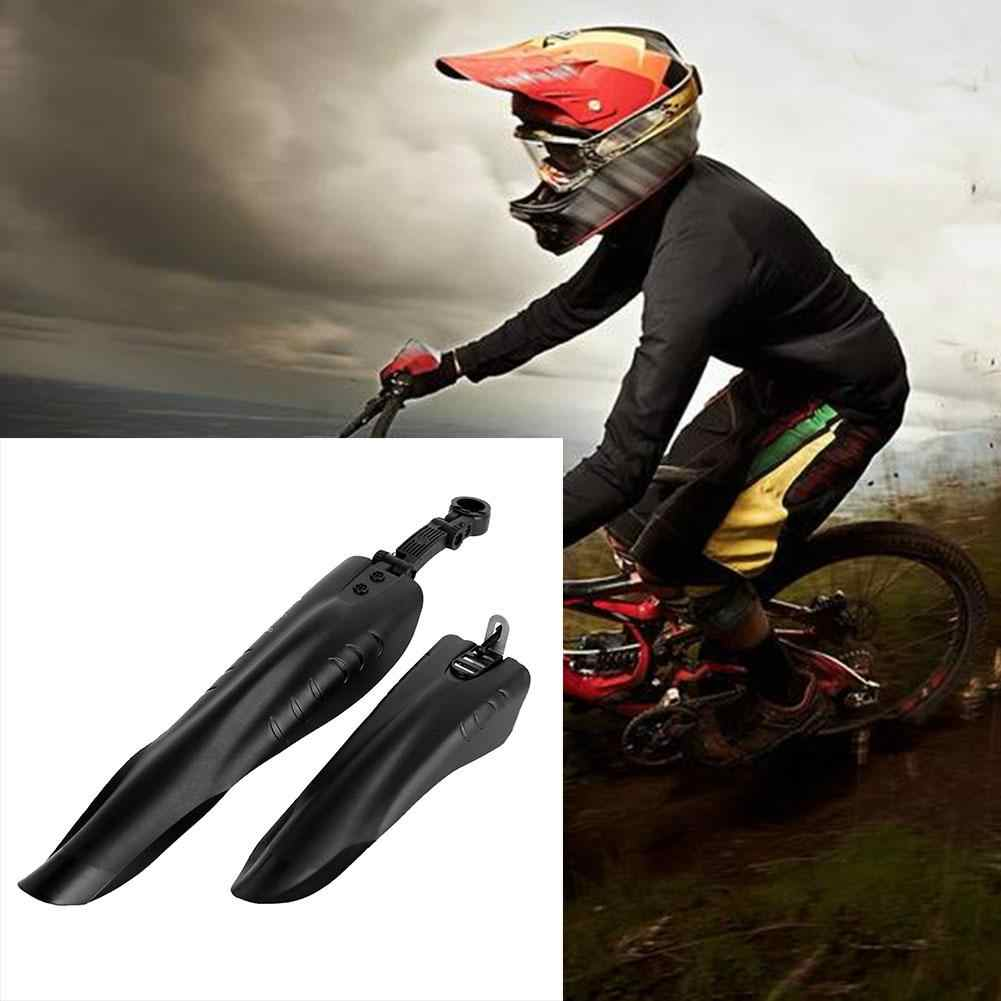 2pcs Bicycle Front Rear Fenders Mountain Road Bike Mud Removable Guards