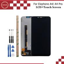"Ocolor עבור Elephone A4 LCD תצוגת מסך מגע 5.85 ""טלפון נייד אביזרי עבור Elephone A4 Pro LCD + כלים ודבק"