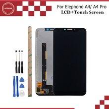 """Ocolor para Elephone A4 pantalla LCD y pantalla táctil 5,85 """"Accesorios de teléfono móvil para Elephone A4 Pro LCD + herramientas y adhesivo"""