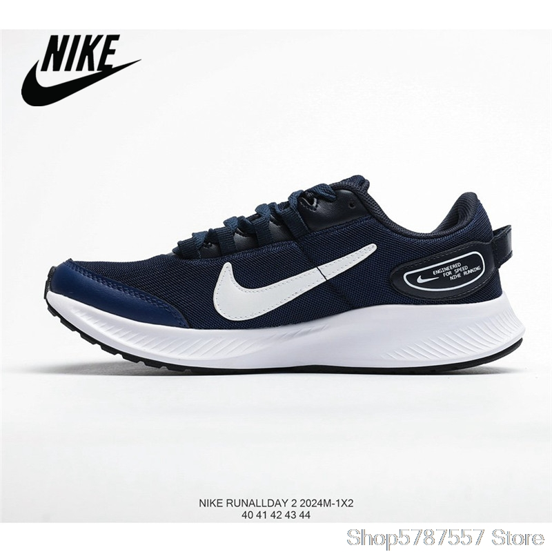 NIKE RUNALLDAY 2 New Breathable Mesh Men's Running Shoes Size 40-45 Free Shipping