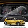 Volkswagen Polo için Virtus MK6 AW 2018-PresentCar şekillendirici GPS navigasyon ekran cam koruyucu Film pano TPU ekran filmi
