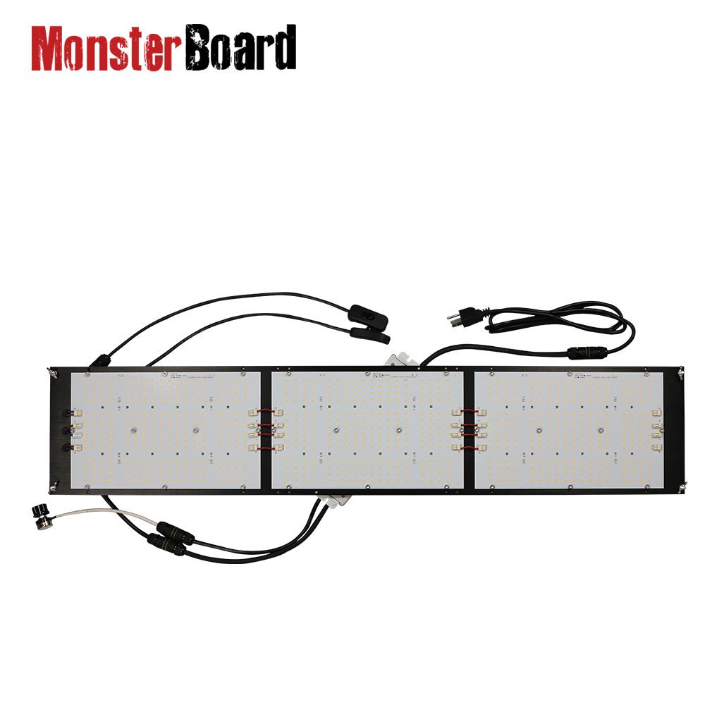 320w V4 Grow Light Board Lm301H UV IR Switch Monster Board Dimmable Led Grow Light  For Hydroponics Plant