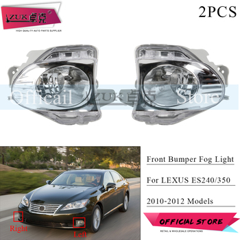 ZUK 2PCS/lot Front Bumper Fog Light Fog Lamp Foglight Foglamp For LEXUS ES240 ES350 2010 2011 2012 ACV40 GSV40 Driving Light