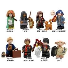 PG8192 Pumping Dolls Harry Trelawney Cho Chang Hermione Granger Dobby Model Figures  Building Blocks BricksFor Children Toys DIY