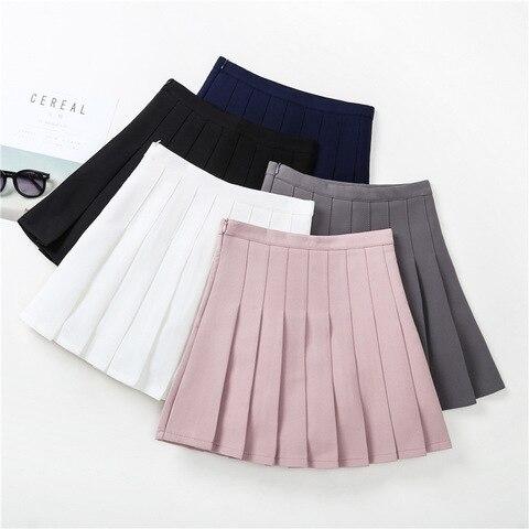 menina da escola saia 2020 primavera verao moda criancas babados tutu saias para adolescente menina