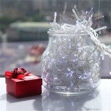 22 м 2 светодиодный Белый гирлянды сказочные огни 8 режимов вечерние для рождественского сада IP44
