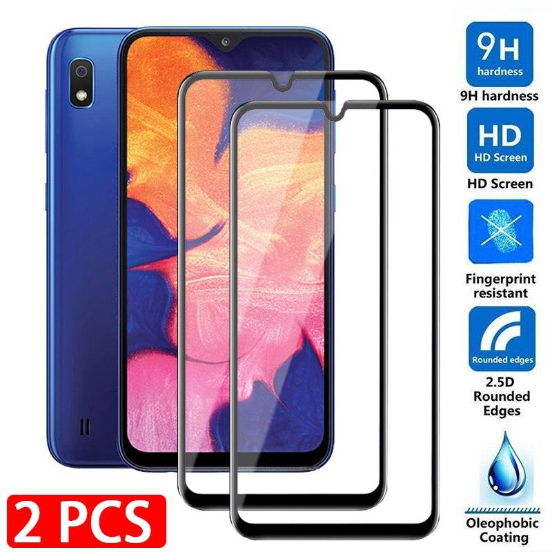 2 шт samsunga10 Полный экран протектор Защитное стекло для Samsung Galaxy A10 A10s A10e M10 закаленное стекло на 10 s 10e M 10 s e