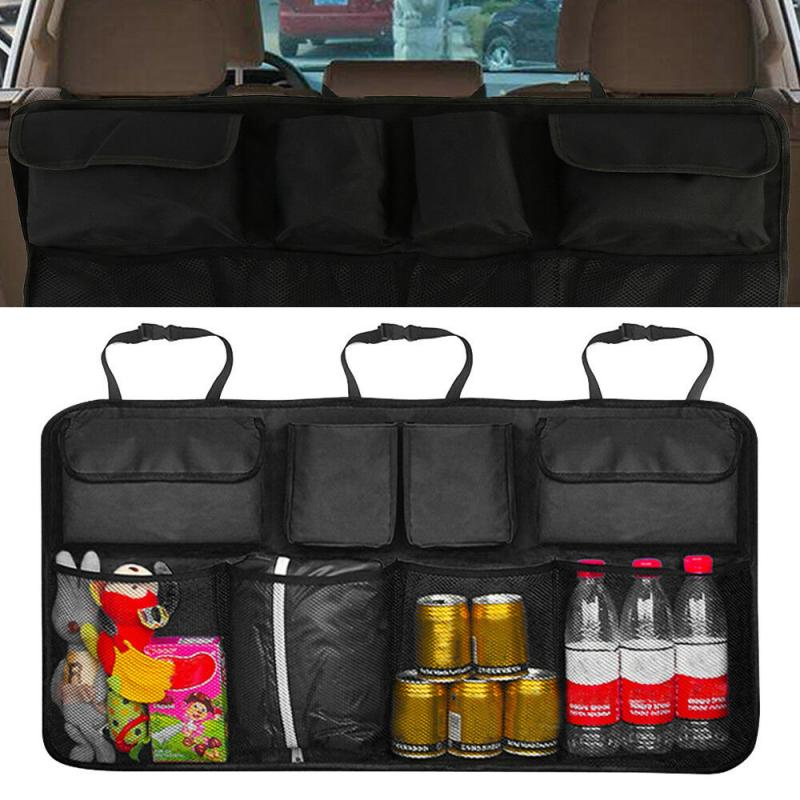 Storage-Bag Back-Organizers-Accessories Universal Backseat Automobile-Seat Oxford Adjustable title=