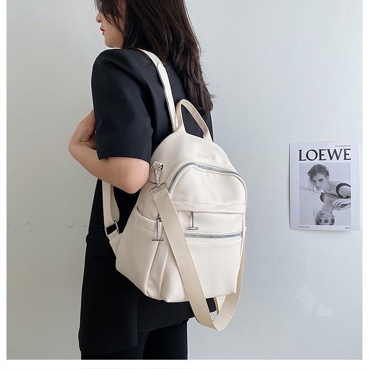 casual bagpack anti roubo mochila de viagem