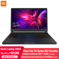 Original Xiaomi Mi Game Laptop 15.6 inch Upgrade i5 8G / i7 16G DDR4 512GB SSD GTX1660Ti / RTX2060 NVIDIA 6GB DDR6 Computer